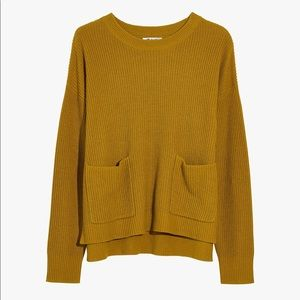 ✨MADEWELL✨Patch Pocket Pullover in Mustard